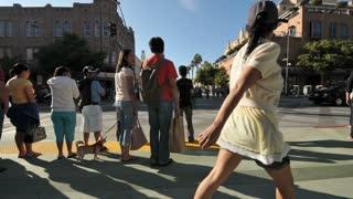 Pedestrian Crosswalk Timelapse