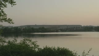 Pentagon building from across the river, Washington, DC