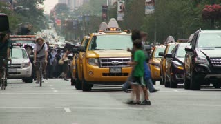 People Crossing NYC Street