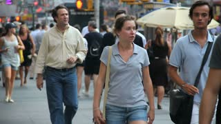 People Walking in NYC 3