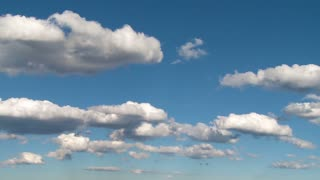 Perfect Blue Sky and Clouds