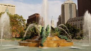 Philadelpha Logan Circle Fountain