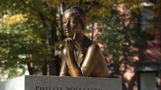 Phillis Wheatley Slave Memorial Zoom In