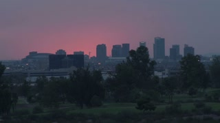 Phoenix Arizona Cityscape in the Evening
