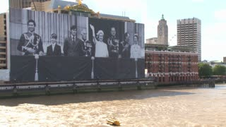 Photo Of Royal Family On River Thames