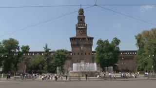 Piazzo Castello Fountain