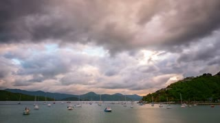 Picton New Zealand Time Lapse