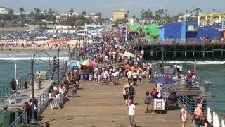 Pier In Santa Monica Time Lapse