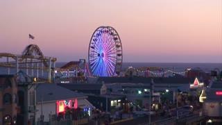 Pier Rides Sunrise