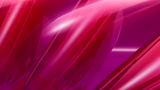Pink Abstract Shape Rotating