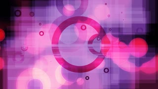 Pink and Purple Circles