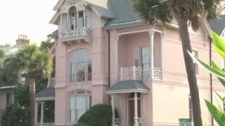 Pink Charleston Home