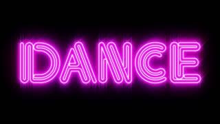 Pink DANCE Neon sign