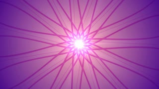 Pink Geometric Shapes Rotating