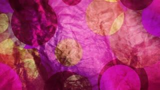 Pink Paper Circles