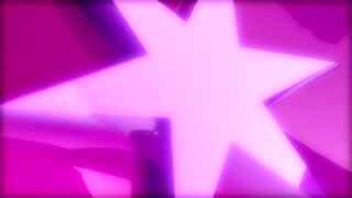 Pink Star Rotating