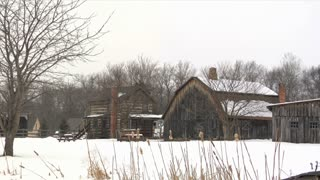 Pioneer Village Snowing