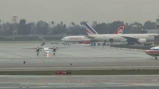 Planes At LAX