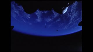 Planet Earth View From Apollo 6