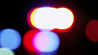 Police Car Light Blur