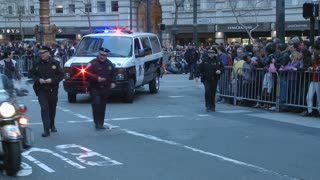 Police In San Francisco Parade
