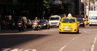 Police Motorcade in New York