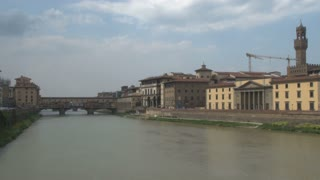 Ponte Vecchio and the Arno River 2