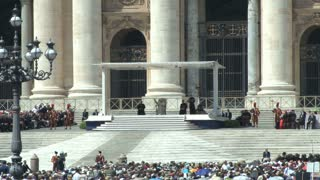 Pope in St. Peters Square 6