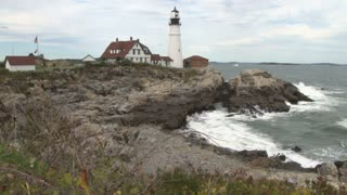 Portland Head Light lighthouse in Maine 10