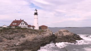 Portland Head Light lighthouse in Maine 16