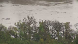 Potomac River Flowing Fast After Hurricane Sandy