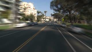 POV Santa Monica Drive