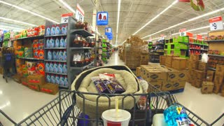 POV Shopping For Food