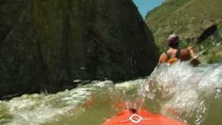 Pov White Water Kayaking