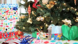 Presents Under Decorated Tree
