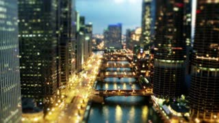 Pretty Lights Chicago Tilt Shift