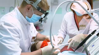 process of dental treatment