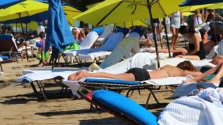 Puerto Rico Beach Sunbathing