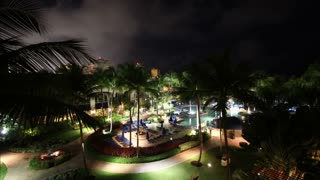 Puerto Rico Resort Night To Day Timelapse