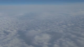 Puffy Clouds From Above 3