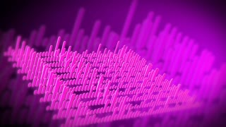 Purple Audio Visualization