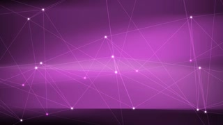 Purple Lines and Points Motion Background