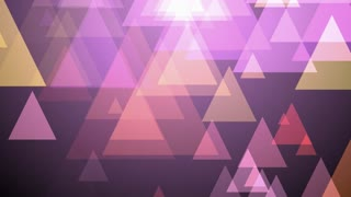 Purple Triangle Motion Background