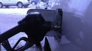 Putting Gas into Car