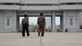 Pyongyang, Heroes monument, North Korea, DPRK, Asia