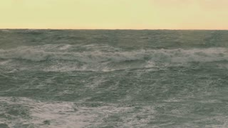 Raging Seas During Alaskan Storm