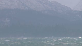 Raging Seas in Alaska During Storm