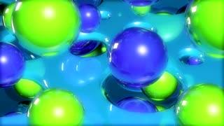 Rain balls liquid energy