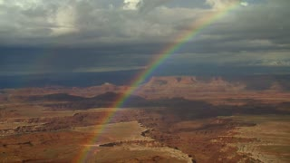 Rainbow Canyon and Cloud Timelapse