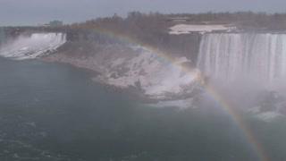 Rainbow in Corner on Niagara Falls 2